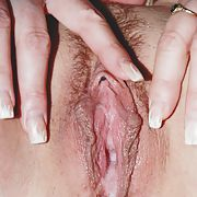 My wife's meaty poes and those nice big hangers