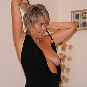 Horny UK Blonde MILF, Spread her gash just for you, Hot MILF loves sex and exposing self