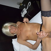 Slut Tammy masturbating! What a slut tranny sex pictures