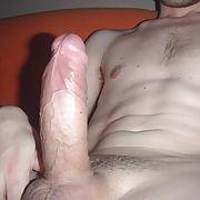 Hard shaved cock skinny twink bi