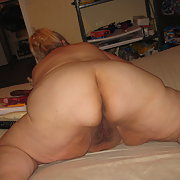 Mature BBW showing off my ass pics for you to have fun with