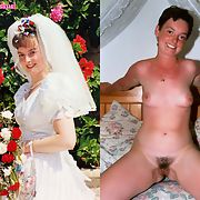 UK Wife Dressed Undressed