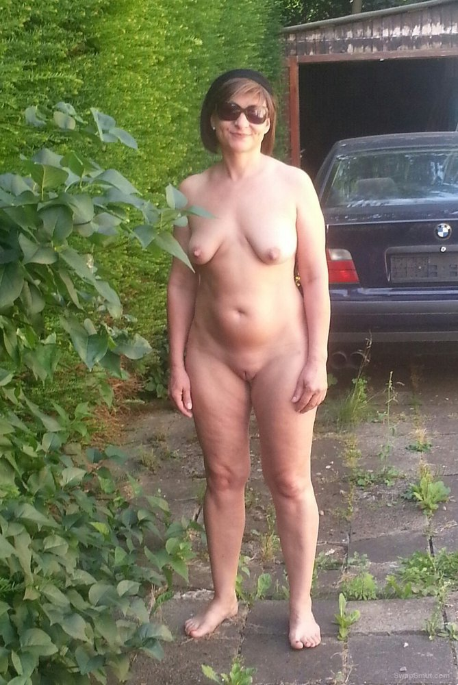 Commit error. naked girls sunbathing in backyard
