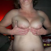 Big old hanging tites with some big nipples wanting to be caressed