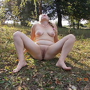 Our nude camping with photo shoots outdoors in the countryside