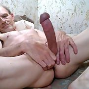 Early morning with a big hard throbbing erection
