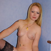 My New Party Outfit Stripping Off To Show Nude Body