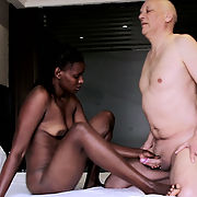 Interracial Blowjob Porn Action