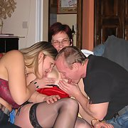 Mature swingers having sum fun on a week-end get away part 3