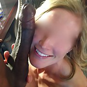 Wife's first interracial experience