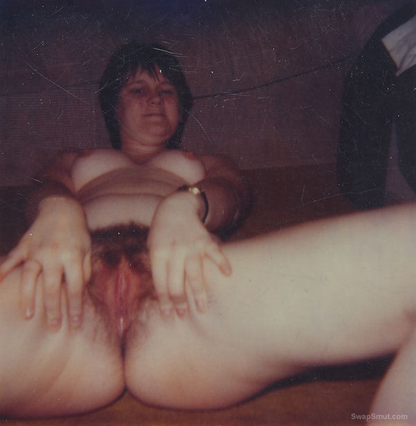 Hairy young wife