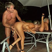 A few horny friends having fun together