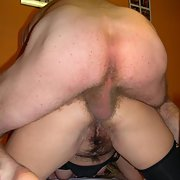 Hairy Mature Double Penetration