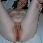 Chubby wife and husband fuck real homemade and friend