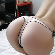 She loves to show her Ass or Pussy with some Thongs