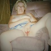 Friends horny blonde bitch sitting naked