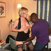Swinger Wife Black Cock Crazy Slut loves being overwhelmed by BBC set II