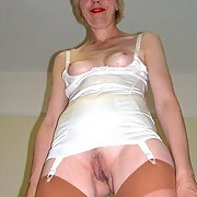 A Cheap and Nasty UK Granny Slut Exposed 001