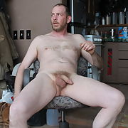 Amateur Guy Jim Nude at home