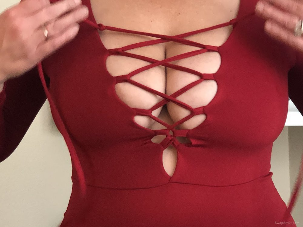 My wife loves showing off her Titties