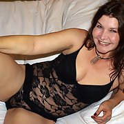 Milf in bodystocking 42 years old sensual amateur home porn photos