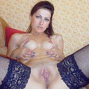 Lovely skinny brunette amateur exposed p1