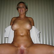 Mature, Natural Big TIts, oiled and posing