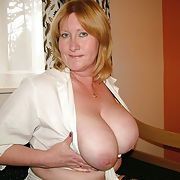 Nasty Nadine mature hot Cock loving slut