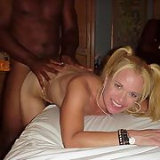 Bambi black cock party slut and gang bang whore