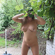 In and out nude indoors and outdoors showing my body