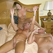 The Mrs having sex with two strangers