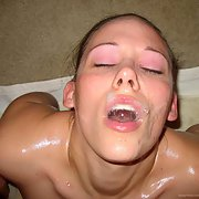 the REAL good wife returns for a fuck and sperm facial