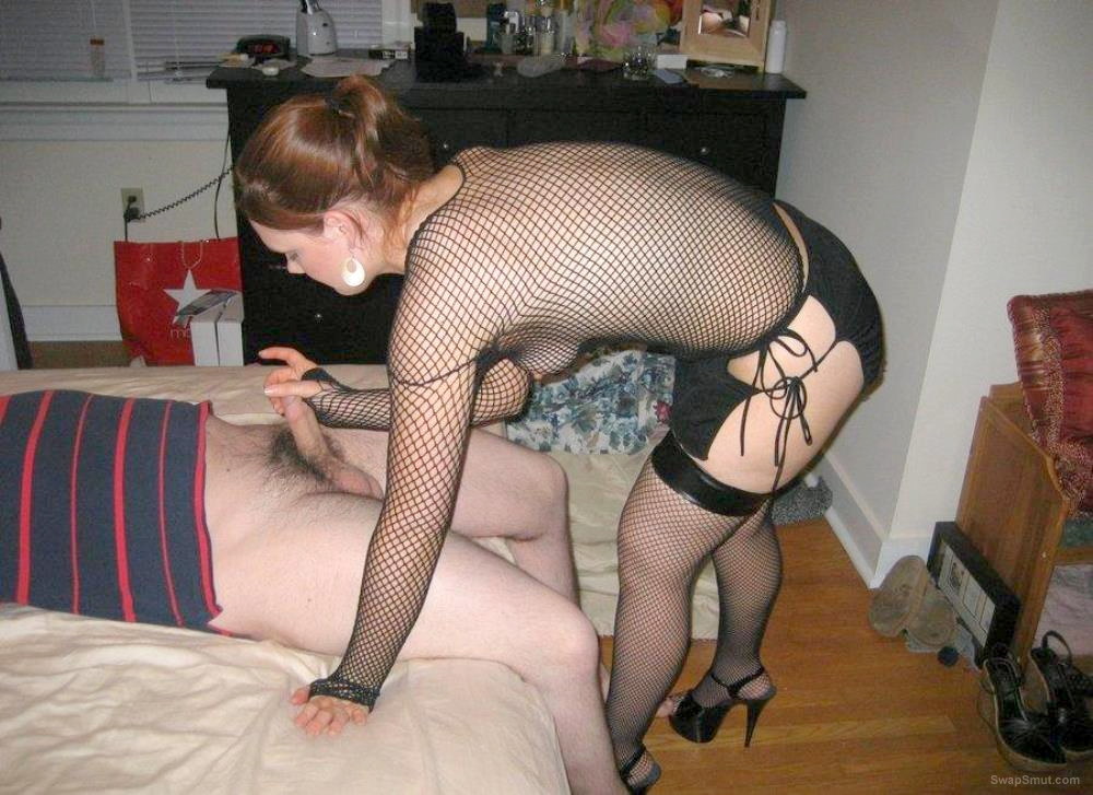 Amateur Wife Sucks Cock