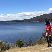 Cross dress walk - lakeside walk