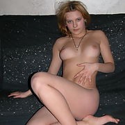Lovely amateur blonde babe exposed part 4