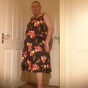 Sissy Rosie Posy in his wife's clothes