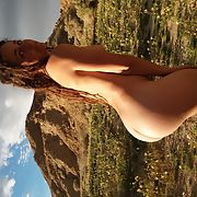 Rachel P nude In Anza Borrego having fun
