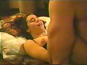 Passionate young lovers enjoying sex making amateur porn movie