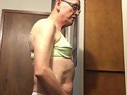 Exposed Faggot Pervert Slut Wears Panty With Panty Liner