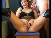 Husband wife masterbate together
