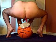 Working my prostate and blowing a big load