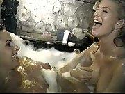 Lesbians In Bath Washing Each Other Everywhere