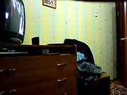Amateur lovers homemade sex movie recored in their apartment bedsit