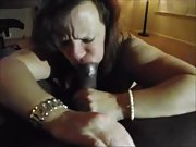 Nasty wife craving a huge black cock in her holes