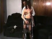 New to black cock wife interracial sex tape with black stud stranger