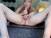 Big tit milf goes all the way down