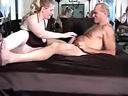 Busty cuckold wifey having sex with a hairy man