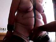 My hot redhead-slave training - lesson 9