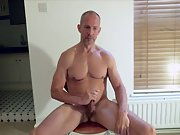 Naked with an erection watch me masturbate on camera
