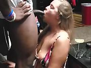 I set her up every weekend with a new BBC for her to fuck